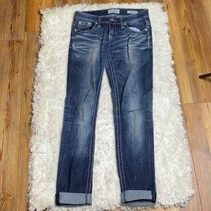 """Daytrip Lynx Skinny Jeans 29R Inseam 31"""" Uncuffed"""